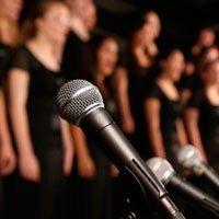 Canto en la Escuela de música de Amurrio.