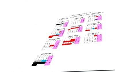 Calendario 2019-2020 y comienzo de las clases