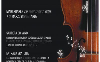 Emakumeak Musikan 6. edizioa