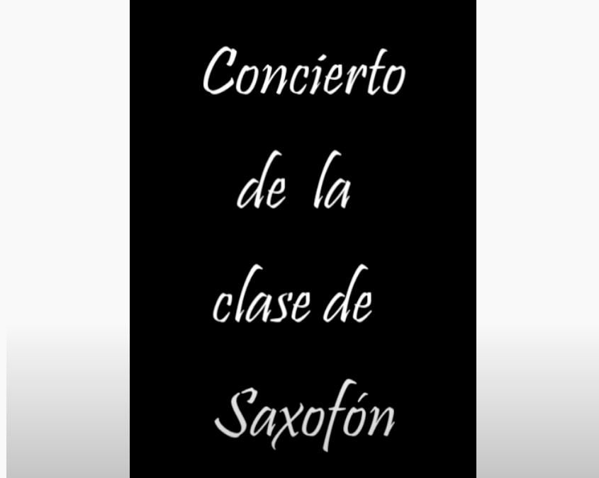 Video Concierto Saxofón