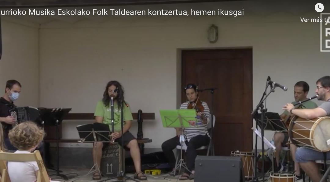 Concierto de Folk Taldea en Villa Fe