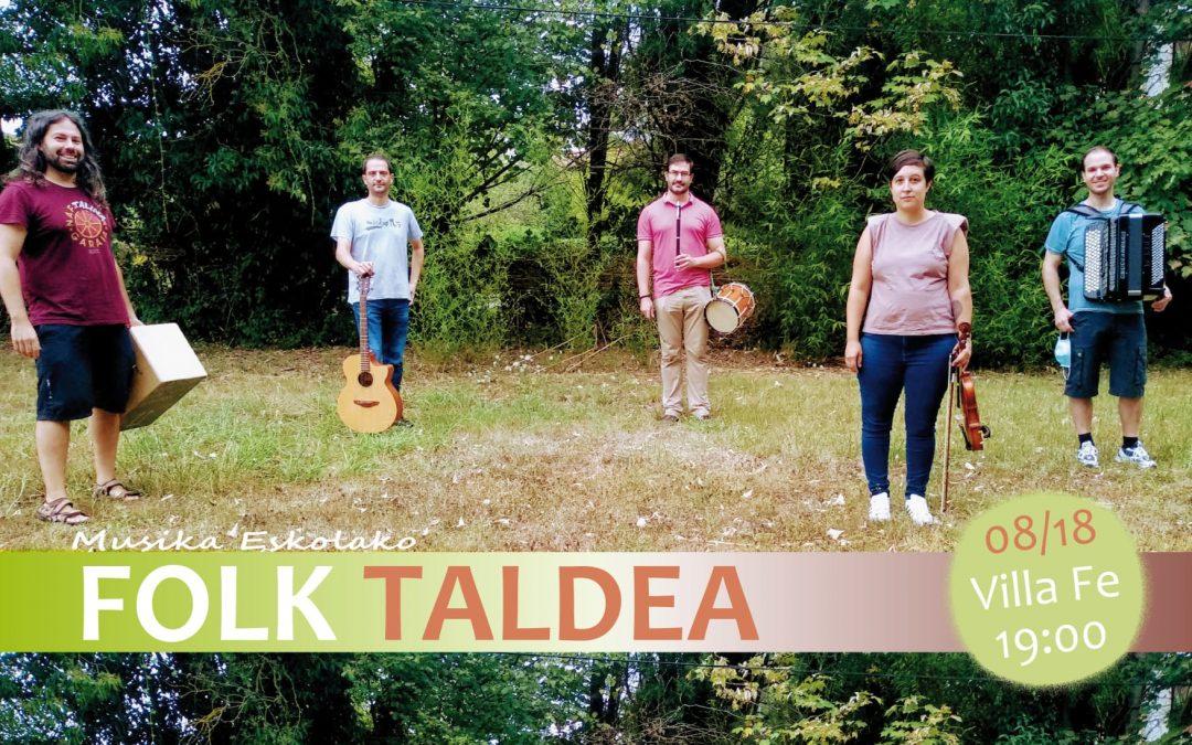 Fotos del Concierto de agosto de Folk Taldea en Villa Fe