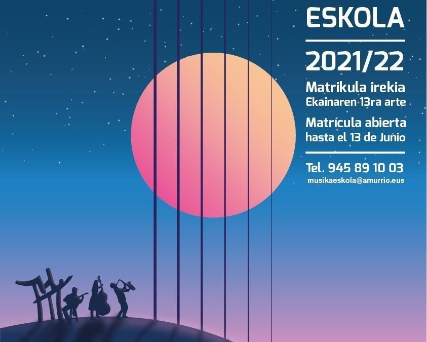 Abierto el plazo de matrícula en la Musika Eskola